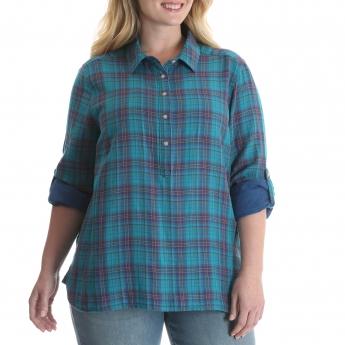 SLP6PVB - Double Cloth Shirt