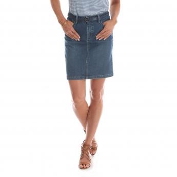 194MAV6 - Midrise Belted Skirt