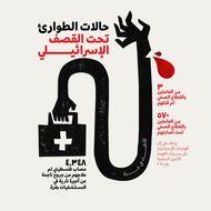 حالات الطوارئ تحت القصف الإسرائيلي