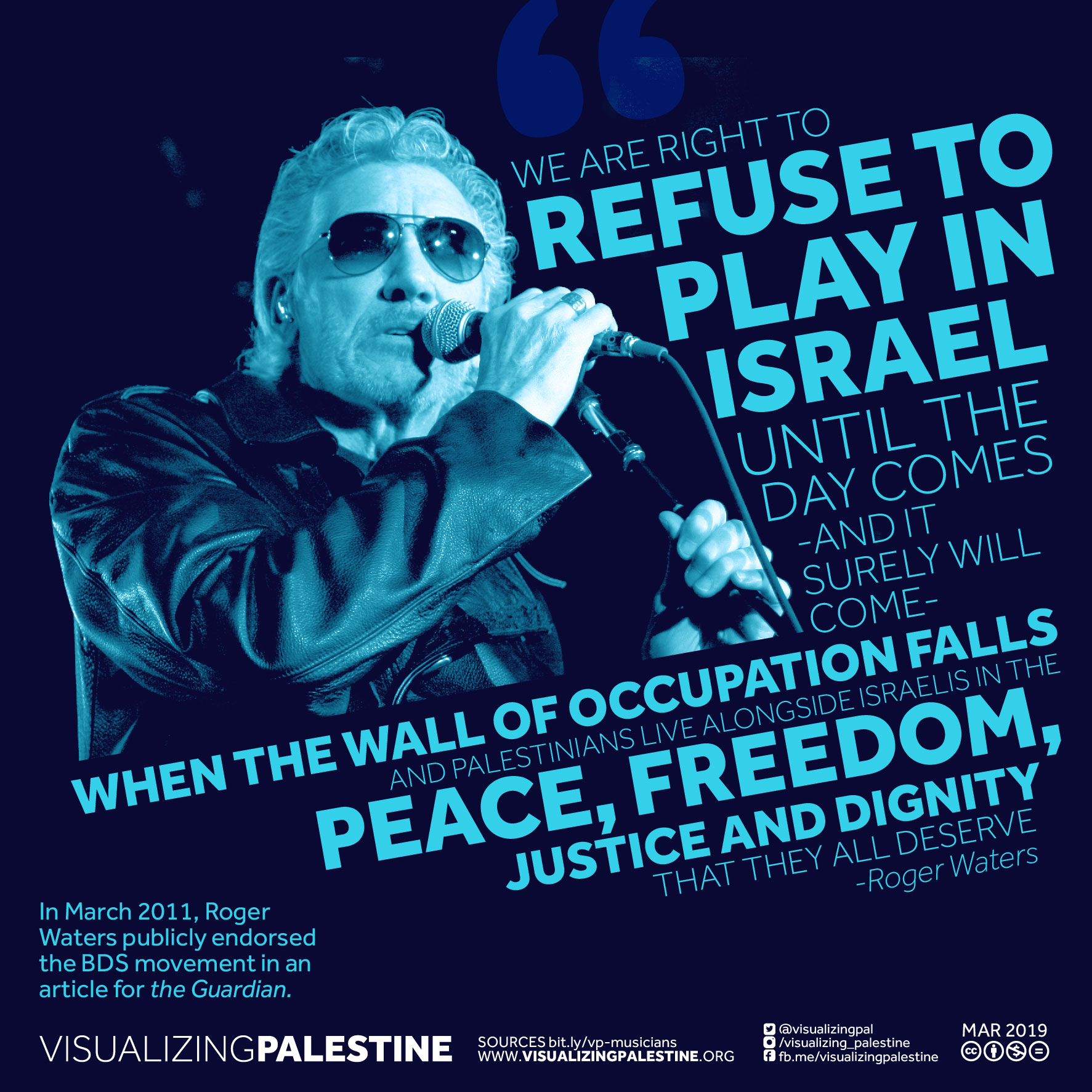 Musicians for Palestine - Roger Waters