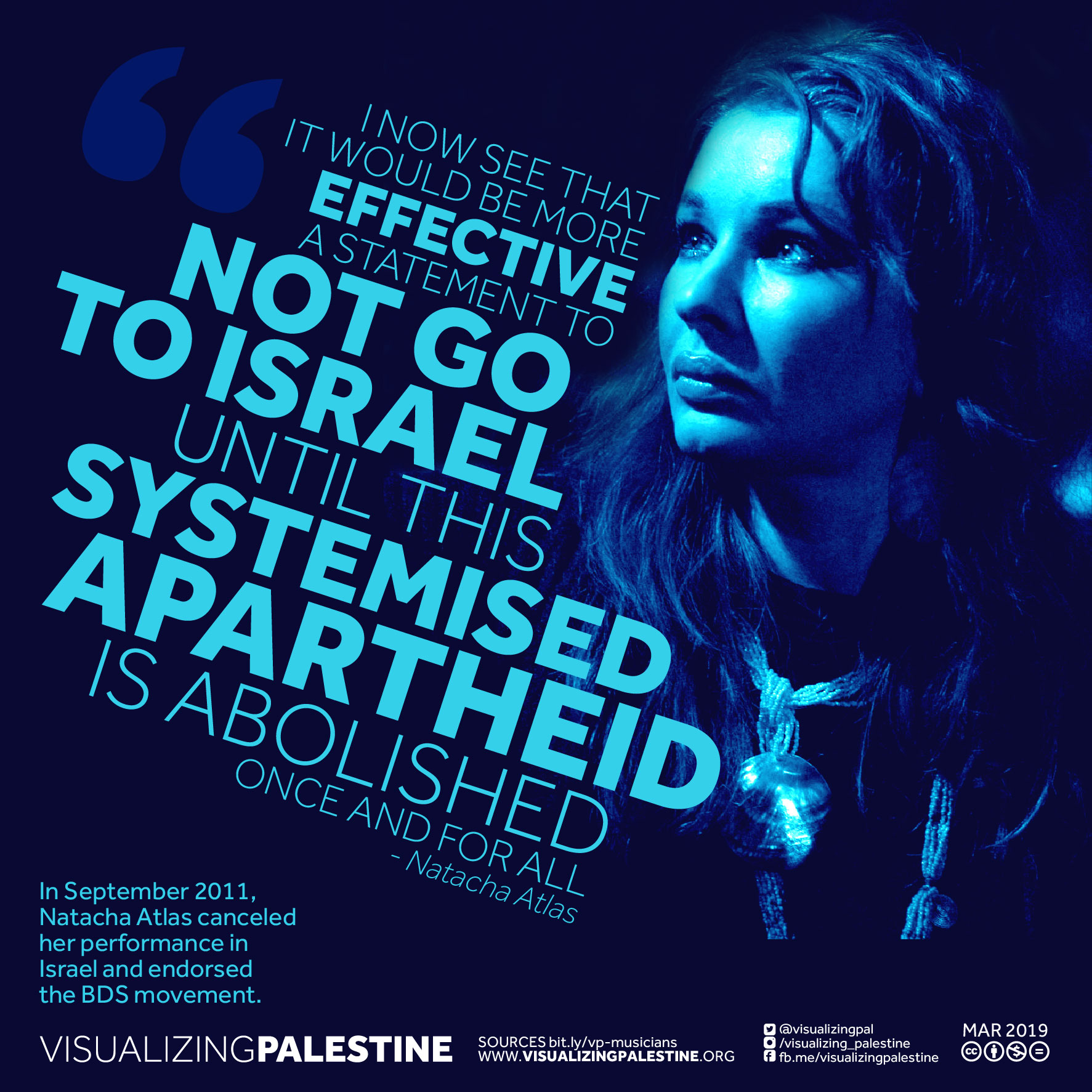 Musicians for Palestine - Natacha Atlas