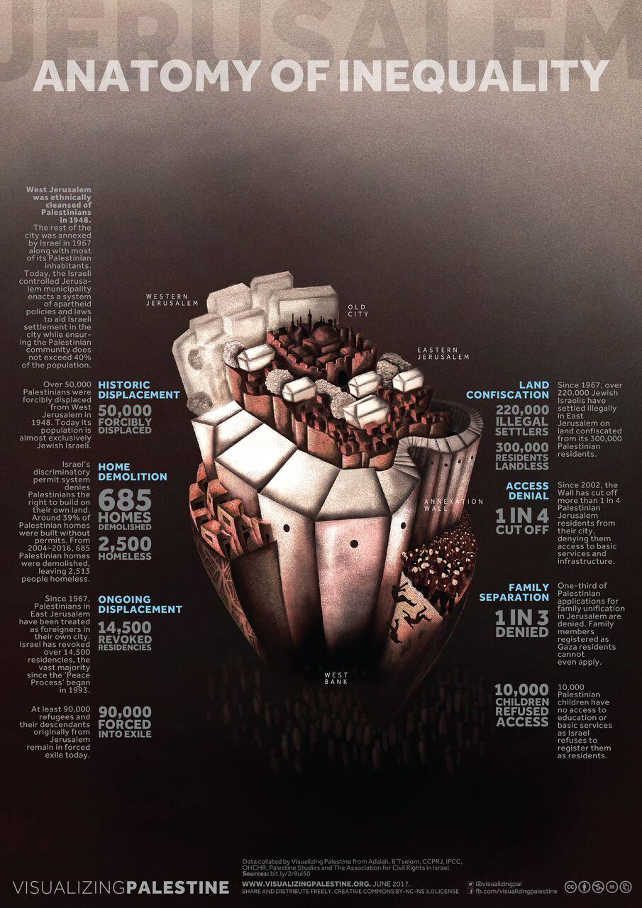 Anatomy Of Inequality Visualizing Palestine