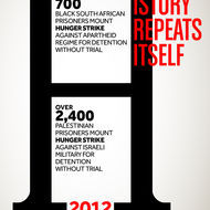 Hunger Strikes in 1989 South Africa and 2012 Israel/Palestine