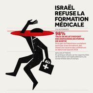 Israël refuse la formation médicale