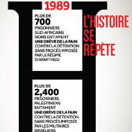 Les grèves de la faim en Afrique du Sud 1989 et 2012 Israël / Palestine