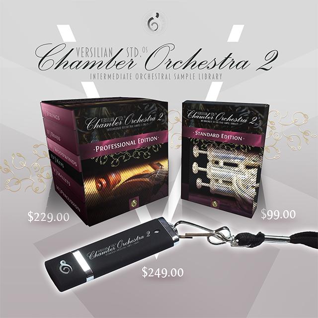 Versilian Studios Chamber Orchestra 2 5 - $229 | VI-CONTROL