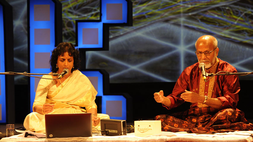 Usha Arunachalam and Pt. Shyamrao Kulkarni: Oneness with sound