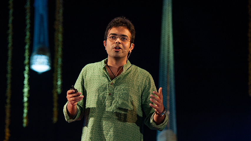 Anirudh Sharma: Intelligent shoes, smart rulers, and ink from pollution