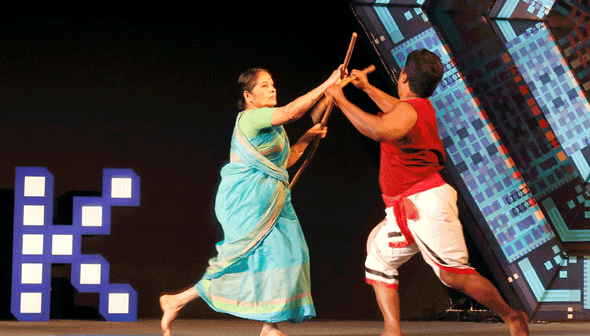 "Bringing back the ancient ""Kalaripayattu"""
