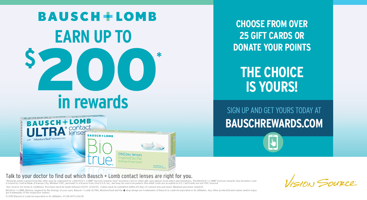 Bausch + Lomb® Rewards