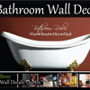 Bathroom Wall Decals