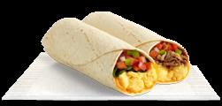 breakfast burrito our breakfast burritos include scrambled eggs fresh ...