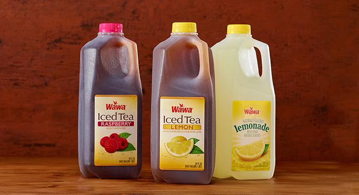 Wawa Half Gallon Teas & Fruit Drinks Buy 2, get 3rd for $1