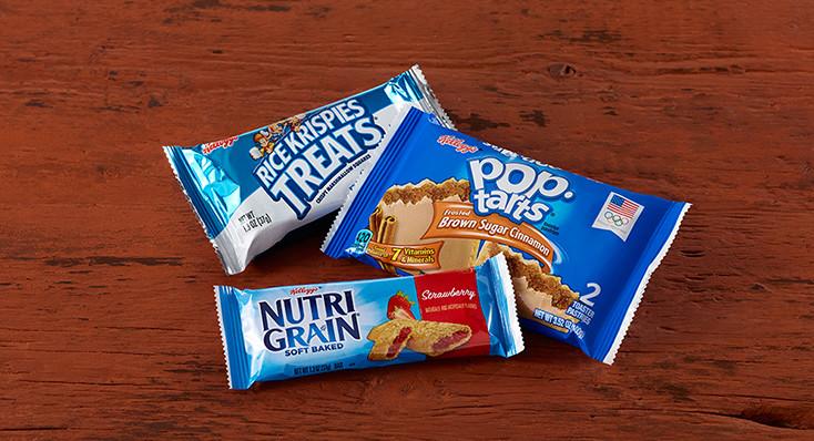 Select Kellogg's® Snacks 2 for $1 *Offer includes Rice Krispies Treats® 1.3oz., Special K® Cereal Bars, Nutri-Grain® Bars, Special K® Pastry Crisps, Pop-Tarts®