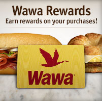 Wawa Rewards! Earn rewards for your purchases!