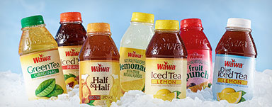 2 for $2 Wawa 16 oz Teas & Fruit Drinks