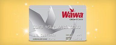 Introducing the Wawa Credit Card!