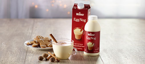 Egg Nog is back!