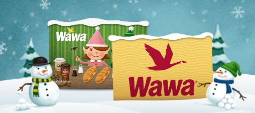 Wawa Holiday Gift Cards