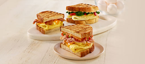 Breakfast Paninis