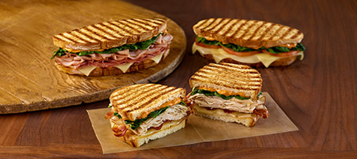 Freshly Made Paninis