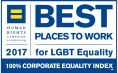 Human Rights Campaign Foundation Best Places to Work for LGBT Equality Logo