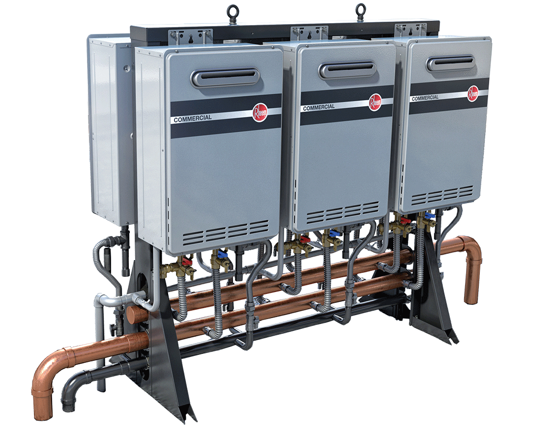 Rheem Commercial Tankless Gas Water Heaters Commercial