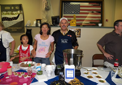 Competing in the cookoff brings families and friends together.