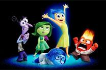 The emotional cast of Inside Out. Artwork courtesy of Pixar Pictures.