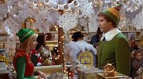 "In the movie Elf, Buddy tells Jovie ""The best way to spread Christmas cheer is singing loud for all to hear!"" Press photo courtesy of New Line Cinema."