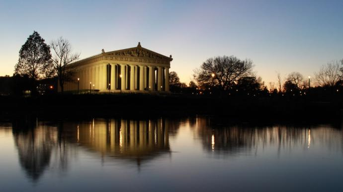 The Parthenon in Nashville.