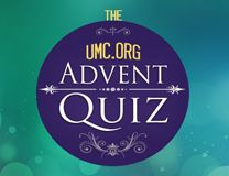 UMC.org Advent Quiz logo. Illustration by Cindy Caldwell.