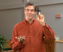 Video image from Chuck Knows Church: Ash Wednesday, courtesy of Discipleship Ministries.
