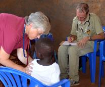 Sharon and Lynn Fogleman are family physicians serving with The Mission Society in South Sudan. Photo courtesy the Holston Conference of The United Methodist Church.