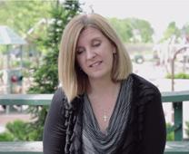 The Rev. Jennifer Long talks about having malaria during her pregnancy. Image from video courtesy of Rev. Long.