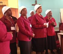 Members of the Women's Association of the South Mozambique Conference. Photo courtesy of the General Commission on the Status and Role of Women.
