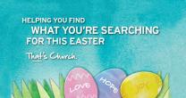 Graphic for Easter resources 2015, courtesy of Rethink Church, an agency of The United Methodist Church.