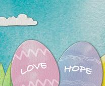 Graphic for Easter resources 2015, from Rethink Church, an agency of The United Methodist Church.