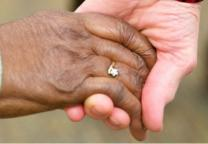 Image of hands reflecting diversity and union. Photo by Jessica Brodie, courtesy of the South Carolina Advocate.