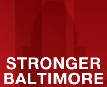 Stronger Baltimore logo from Rethink Church campaign for Baltimore, Maryland, courtesy of United Methodist Communications.