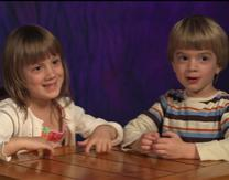 Twins Fiona and Finn discuss the importance of Easter Eggs. Video still courtesy of United Methodist Communications.