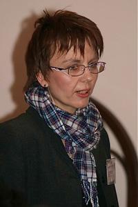 The Rev. Ivana Prochazkova is a pastor near Prague. Photo courtesy of the Rev. Prochazkova.