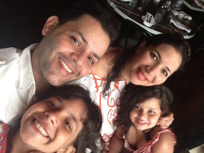 The Rev. Lily Ramirez and family. Photo courtesy of Rev. Ramirez.