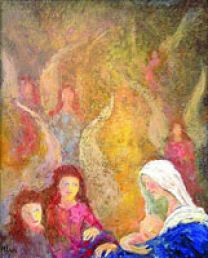 Receive this Alternative Christmas card from Society of St. Andrew as thanks for a gift to feed  hungry families in America. Courtesy of Society of St. Andrew.