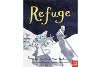 Refuge by Anne Booth and Sam Usher. Artwork courtesy of Cokesbury.com.