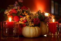 Thanksgiving centerpiece. Photo by Martin Cathrae, courtesy Flickr.