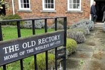 The Old Rectory, one stop on the Wesley Pilgrimage. Photo courtesy of Discipleship Ministries.