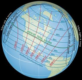 The 2017 eclipse will be visible in all of North America, and portions South America, Europe, and Africa.