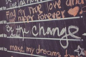 Answers from the Before I die wall in Hillcrest, San Diego, California.