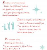 In his hymns, Charles Wesley highlights many of the aspects of Jesus' birth. Infographic by Trevor Scruggs, United Methodist Communications.